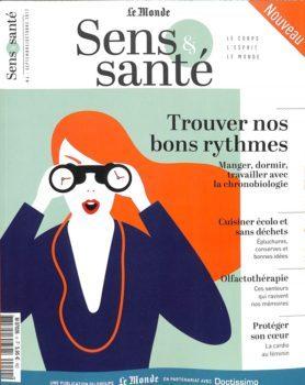 Sens & Santé magazine sur le domaine de la santé