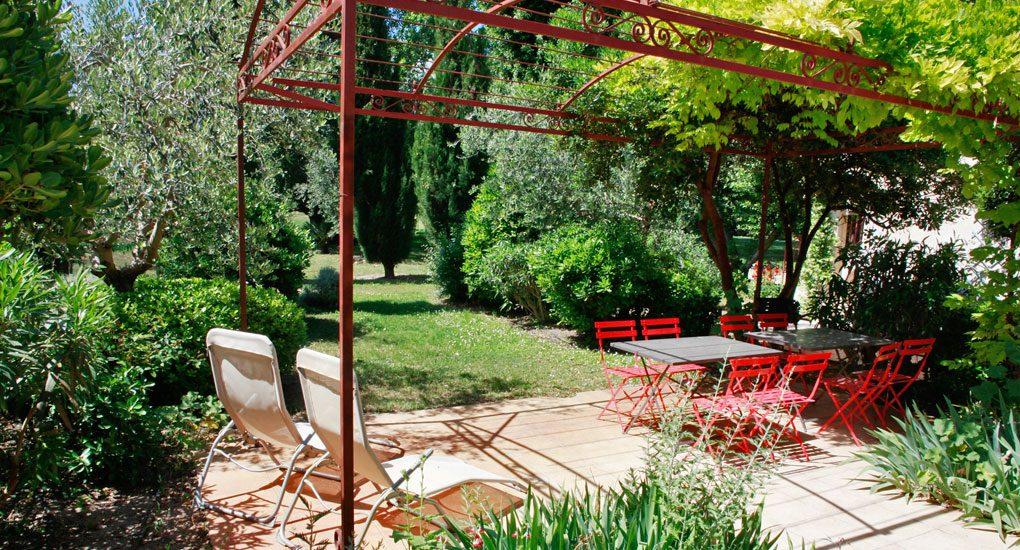 terrasse du centre de Arles