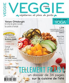 Esprit VEGGIE magazine sur le domaine de l'alimentation vegane