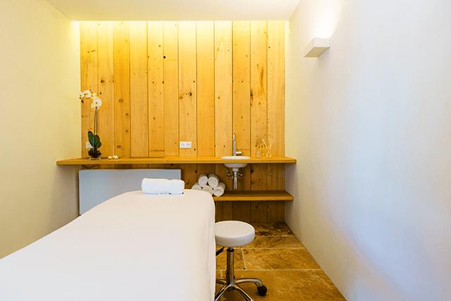 Photo des tables de massages