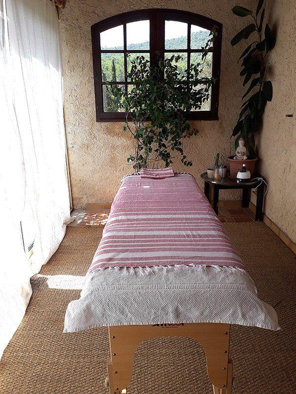 Photo de la salle de massage de sainte baume