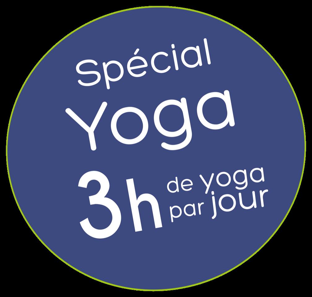 3 heures de yoga par jour