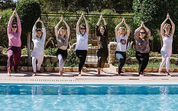 Séance de Yoga dans le Centre d'Essaouira